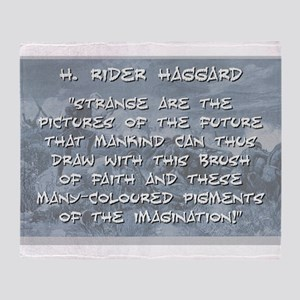 Strange Are the Pictures - Haggard Throw Blanket