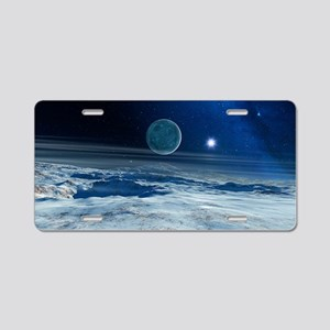Charon from Pluto - Aluminum License Plate
