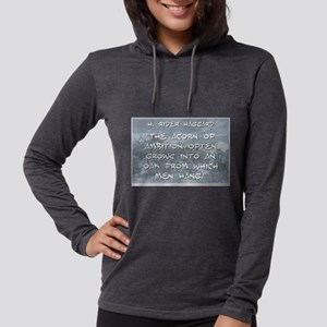 The Acorn of Ambition - Haggard Womens Hooded Shir