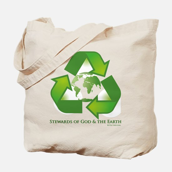 Stewards of God the Earth Tote Bag