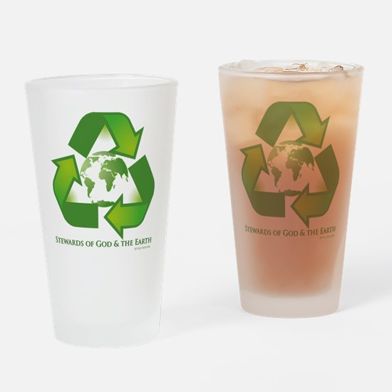 Stewards of God the Earth Drinking Glass