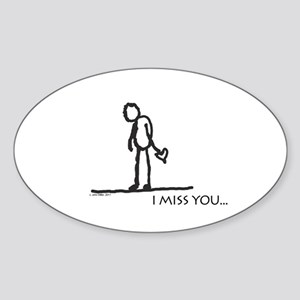 I miss you... Sticker