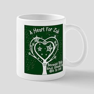 Zak's Heart Mug