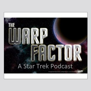 The Warp Factor Small Poster