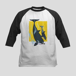 Whales Kids Baseball Jersey