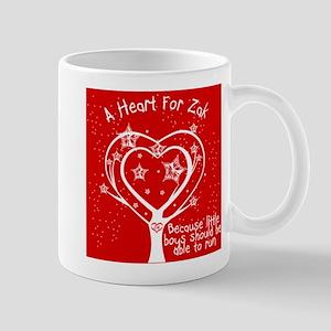 A Heart For Zak Red Mug