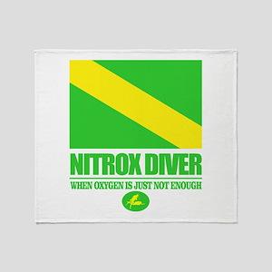 Nitrox Diver Throw Blanket