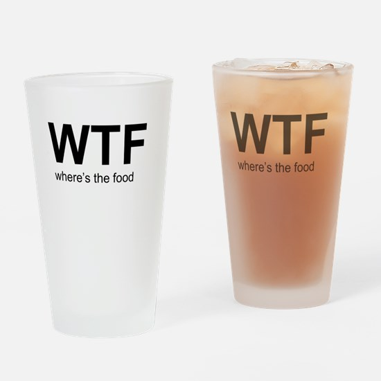 WTFood Drinking Glass