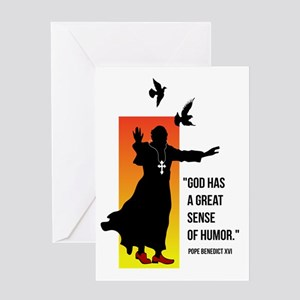 Pope Benedict XVI Greeting Card