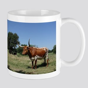 Texas Longhorn Cow Mugs