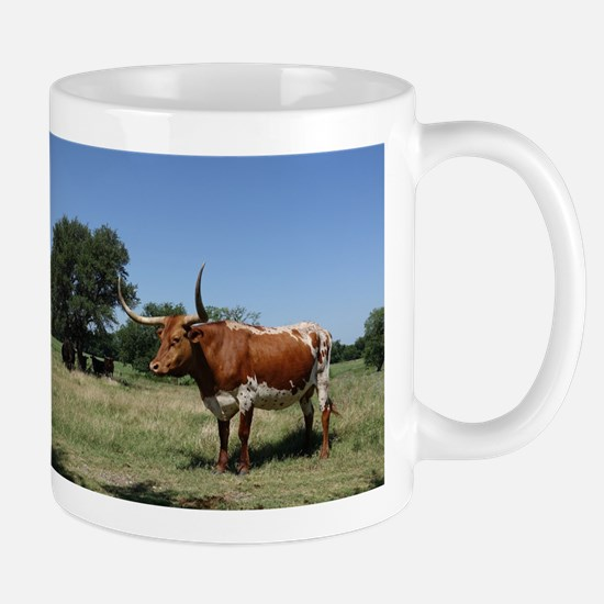 Texas Longhorn Cow Mugs