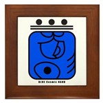 BLUE Cosmic HAND Framed Tile