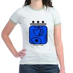 BLUE Cosmic HAND Jr. Ringer T-Shirt