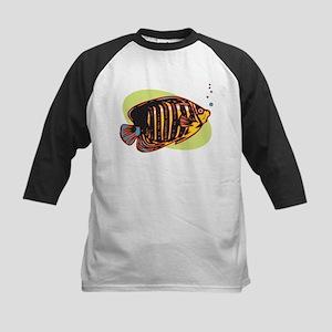 Butterfly Fish Kids Baseball Jersey