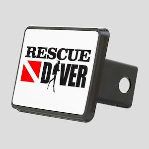 Rescue Diver 3 (blk) Hitch Cover