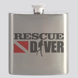 Rescue Diver 3 (blk) Flask