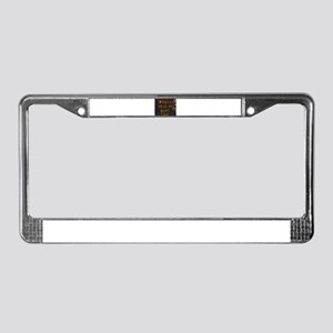 A Friend Is A Gift - Stevenson License Plate Frame