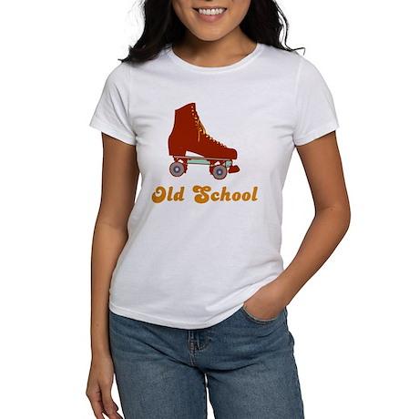 Old School Rollerskates Women's T-Shirt