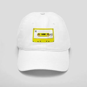 Yellow Cassette Tape Cap