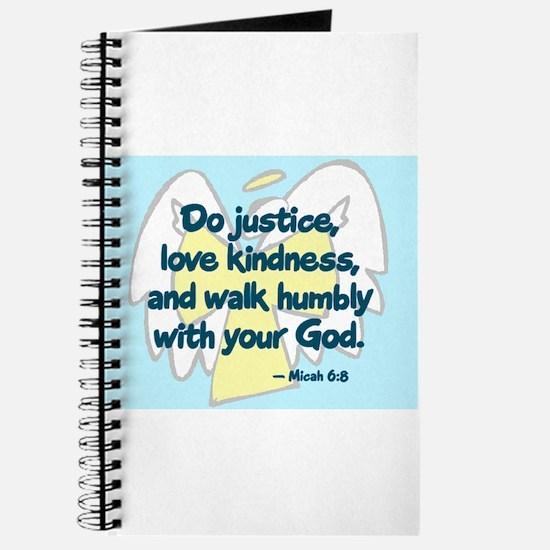 Micah 6:8 Journal