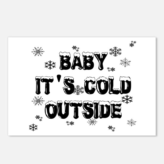 Baby, It's Cold Outside Postcards (Package of 8)