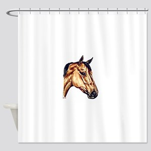 Quarter Horse Shower Curtain