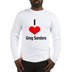 I heart Greg Sanders Long Sleeve T-Shirt