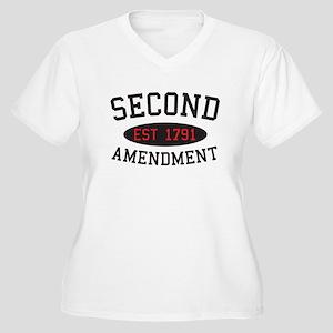 Second Amendment, Est. 1791 Plus Size T-Shirt