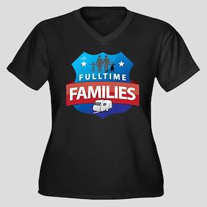 fulltime families logo FINAL Plus Size T-Shirt
