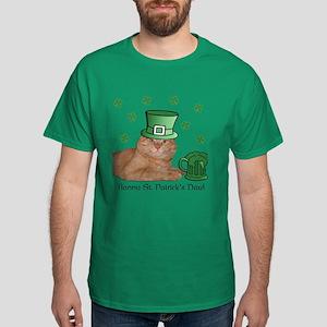 Cute Orange Kitty Cat St. Patricks T-Shirt