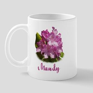 Mandy: Purple Flower Mug