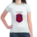 98TH INFANTRY DIVISION Jr. Ringer T-Shirt