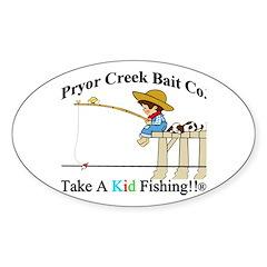 Pryor Creek Bait Company Decal