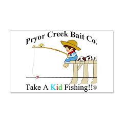 Pryor Creek Bait Company Wall Decal