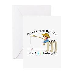 Pryor Creek Bait Company Greeting Card