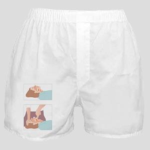 Artificial respiration, artwork - Boxer Shorts