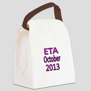 ETA October 2013-Pink Canvas Lunch Bag