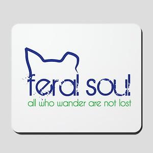 Feral Soul Mousepad