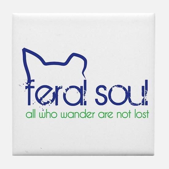 Feral Soul Tile Coaster