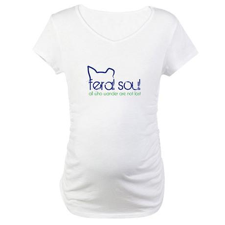 Feral Soul Maternity T-Shirt