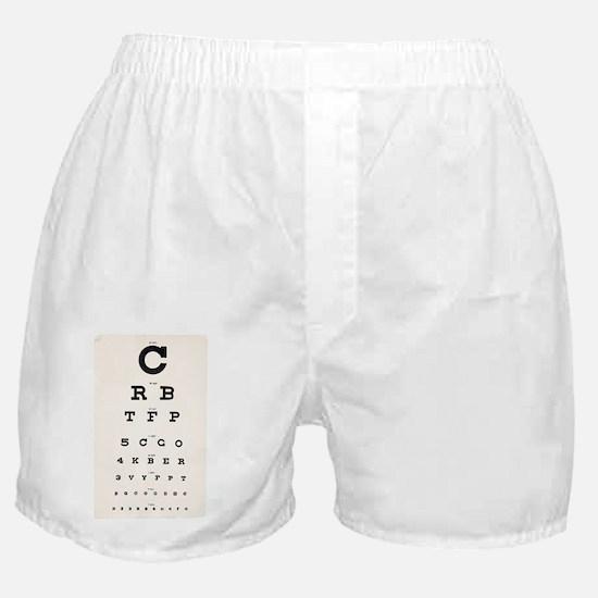 Eyesight test chart - Boxer Shorts