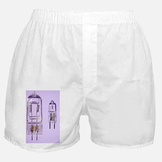 Tungsten Halogen Lamps - Boxer Shorts