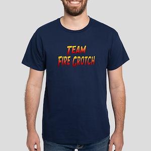Team Fire Crotch Dark T-Shirt