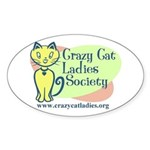 Oval Sticker - Official CCLS Logo