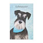 Schnauzer (Miniature) Mini Poster Print