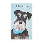 Schnauzer (Miniature) Sticker (Rectangle)
