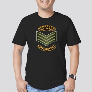 UK - Army - Sergeant - Retired Men's Fitted T-Shir