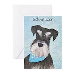 Schnauzer (Miniature) Greeting Cards (Pk of 10)