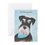 Schnauzer (Miniature) Greeting Cards (Pk of 20)