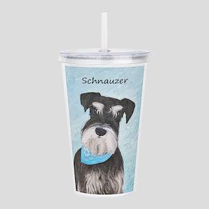 Schnauzer (Miniature) Acrylic Double-wall Tumbler
